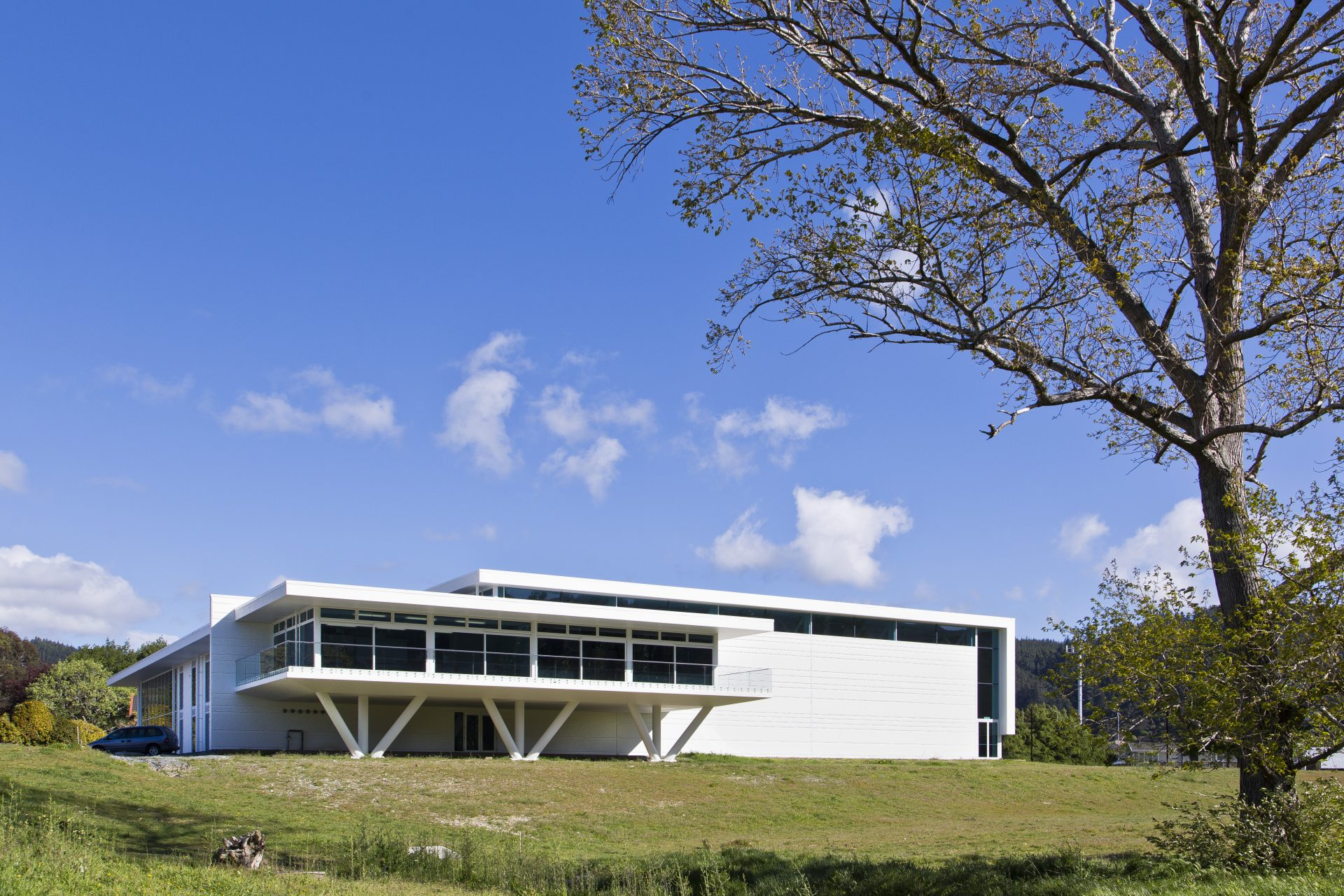 St Patrick's College Silverstream New Sports Hub_North Elevation_ 3 of 6