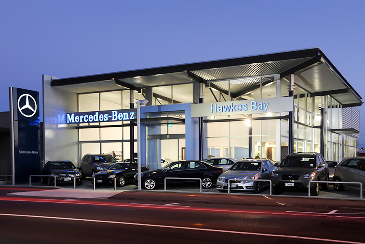 mercedes benz hawkes bay