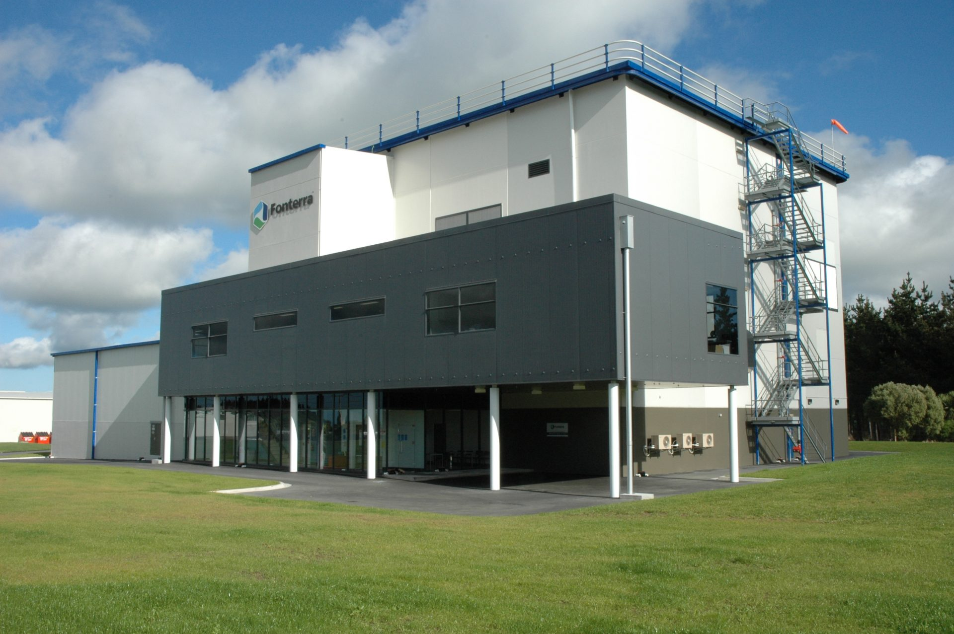 IGL Production Facility, Dickson Lonergan Ltd, north east elevation, 1 of 3 (1)
