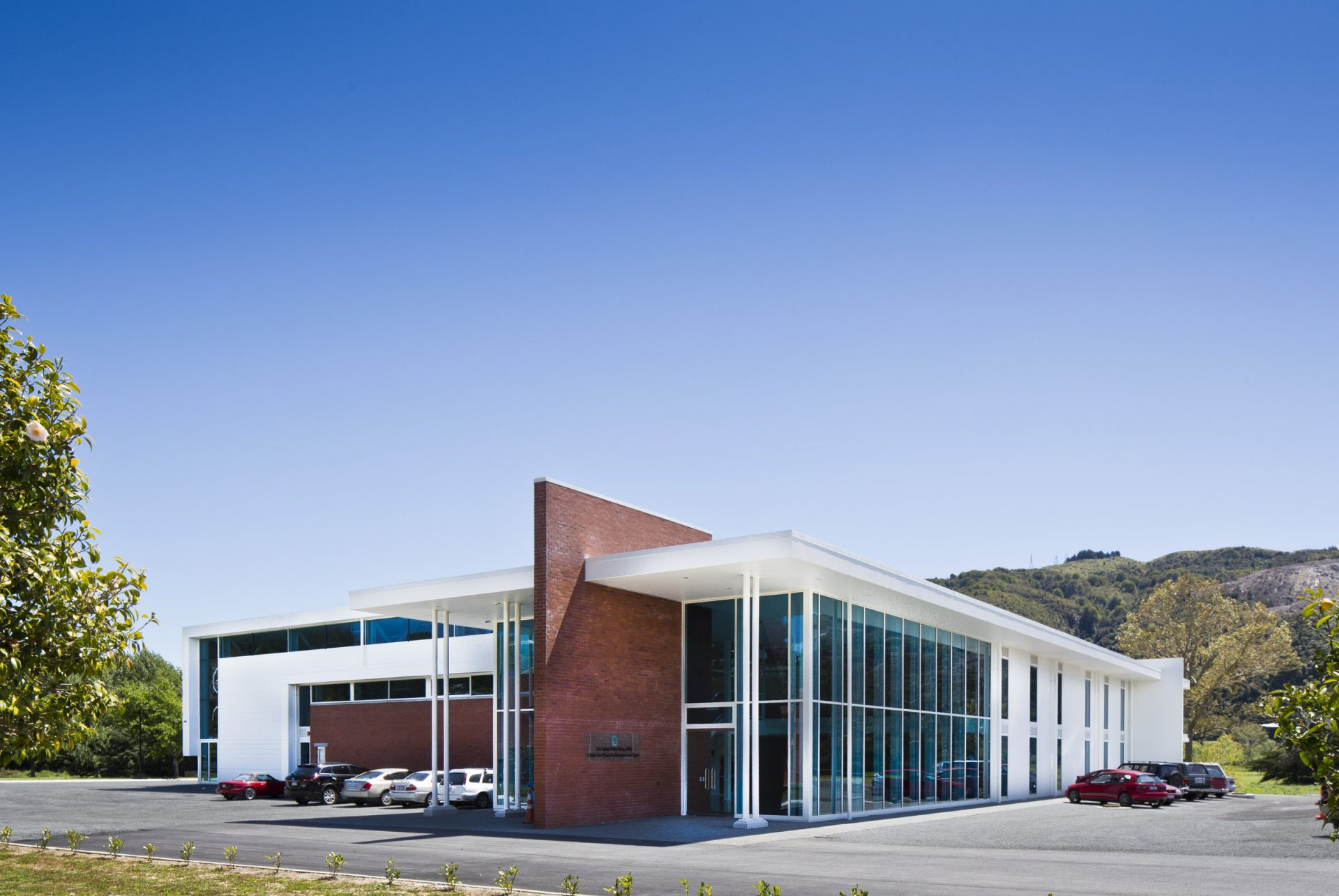 St Patrick's College Silverstream New Sports Hub_South Elevation_ 1 of 6